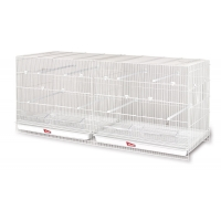 Bird breeding flying cages